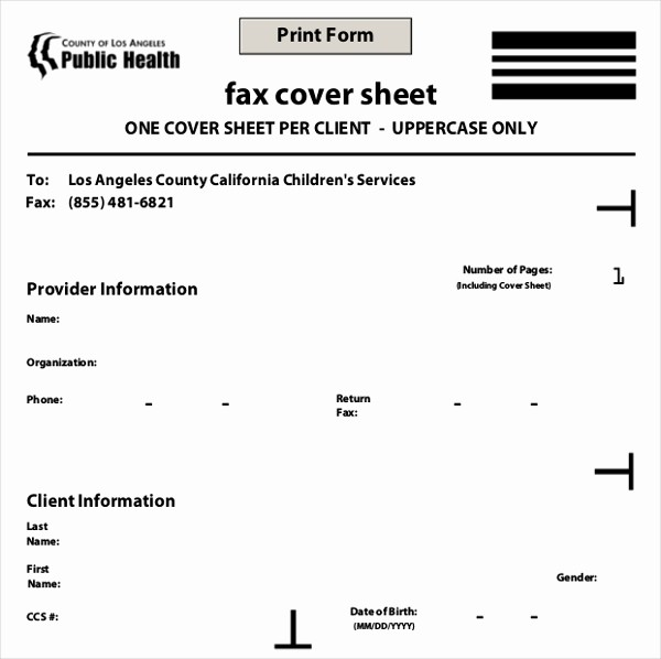 Medical Fax Cover Sheet Templates Elegant 12 Fax Cover Templates – Free Sample Example format
