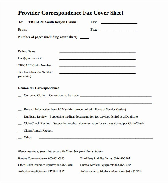 Medical Fax Cover Sheet Templates Elegant 12 Free Fax Cover Sheet Templates – Free Sample Example