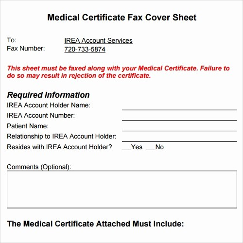 Medical Fax Cover Sheet Templates Unique 28 Fax Cover Sheet Templates