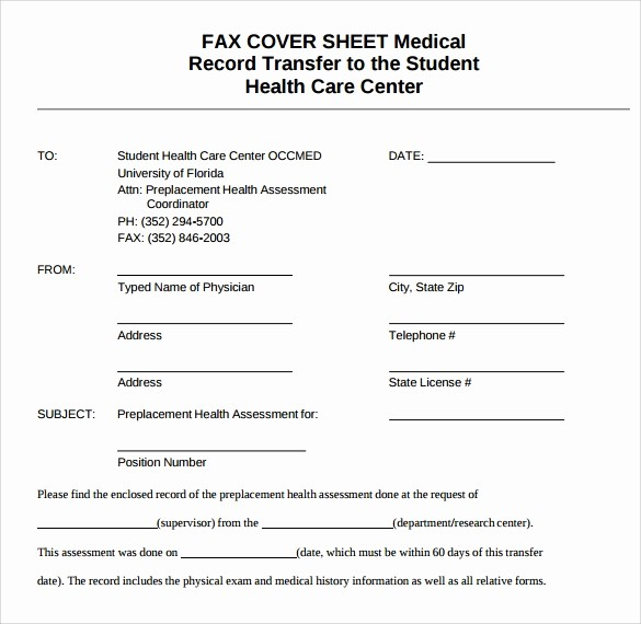 Medical Office Fax Cover Sheet Elegant 28 Fax Cover Sheet Templates