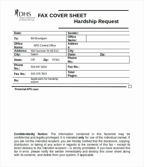 Medical Office Fax Cover Sheet New Fax Cover Letter Doc Confidential Fax Cover Sheet Word