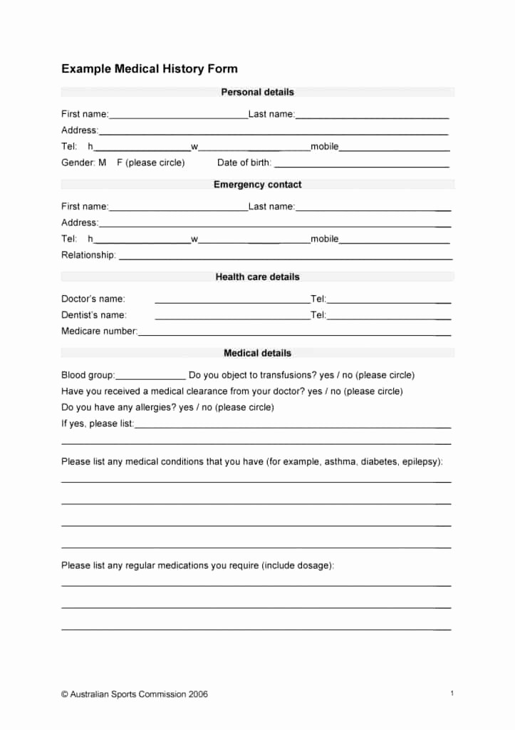 Medical Physical form for Employment Elegant Pre Employment Physical form Template Beautiful 67 Medical