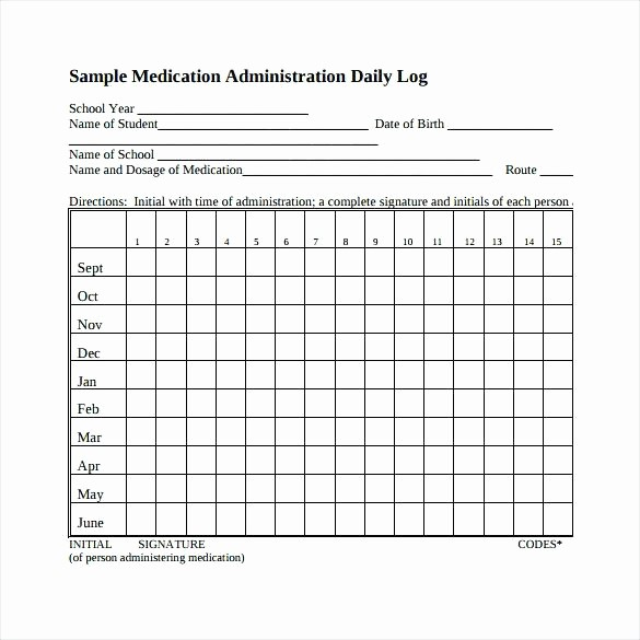 Medication Chart Template Free Download Inspirational Daily Medication Administration Record Template Drug Sheet