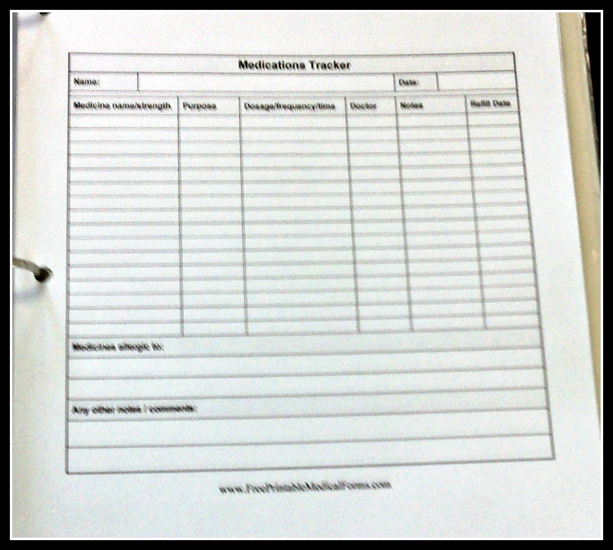 Medication Log Sheet for Patients Awesome Medication Administration Record Template Excel