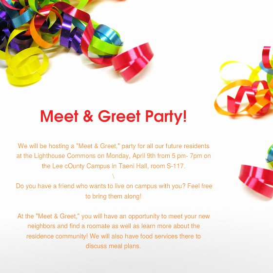 Meet and Greet Invitation Templates Beautiful Meet and Greet Invitation