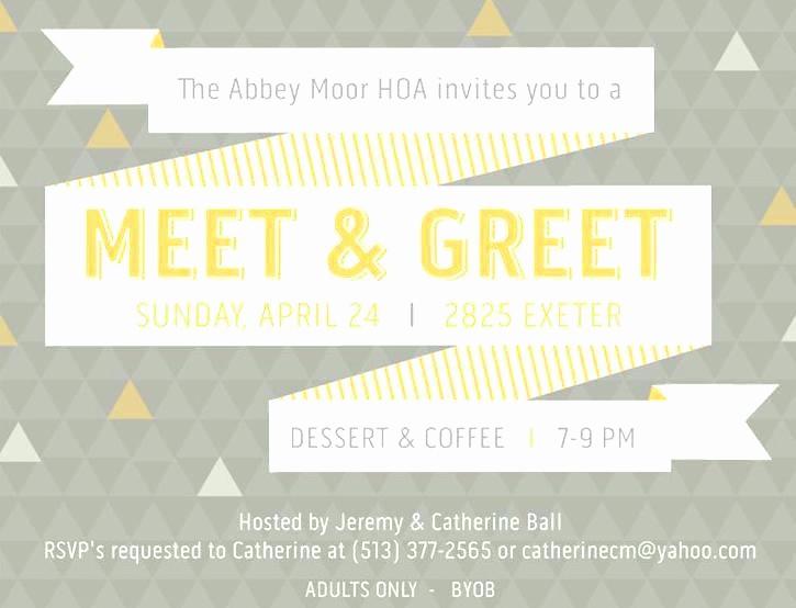 Meet and Greet Invitation Templates Elegant Meet and Greet Invitation Baby Shower Ideas Best
