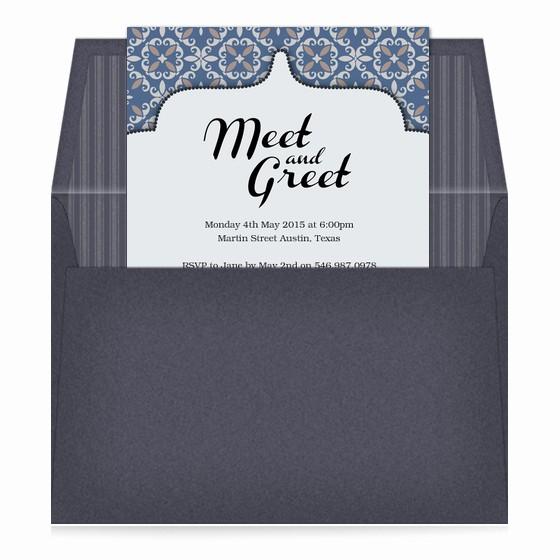Meet and Greet Invitation Templates Unique Meet and Greet Invitations & Cards On Pingg