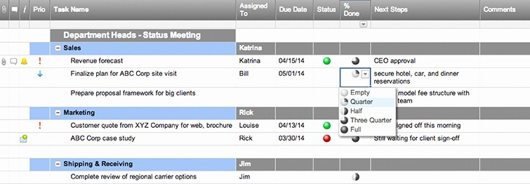 Meeting Action Items Tracker Excel New Meeting Action Items Template