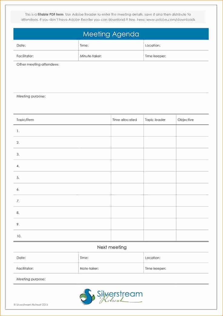 Meeting Agenda with Notes Template Lovely Best 25 Meeting Agenda Template Ideas On Pinterest