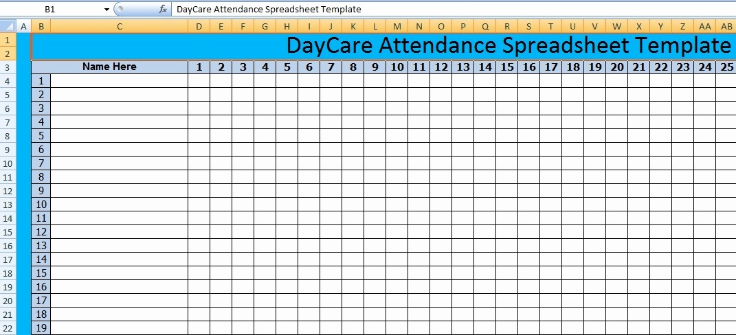 Meeting attendance Sheet Template Excel Beautiful Get Meeting attendance Spreadsheet format Excel