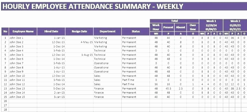 Meeting attendance Sheet Template Excel Fresh Excel attendance Sheet – Globalsurvivalub
