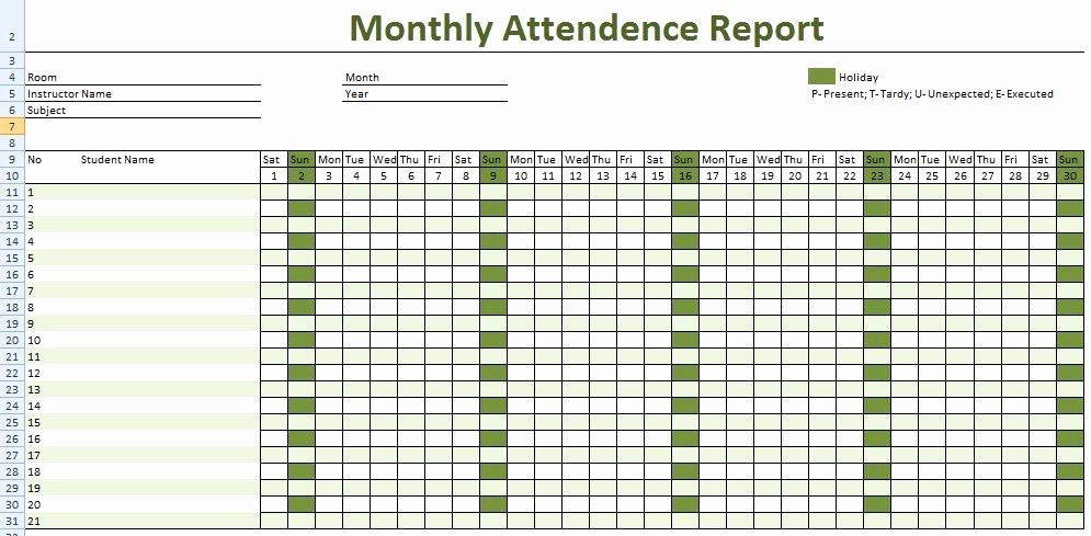 Meeting attendance Sheet Template Excel New Employee Meeting attendance Sheet