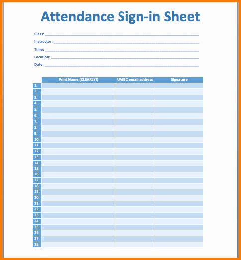 Meeting attendance Sign In Sheet Beautiful 4 Meeting attendance Sheet
