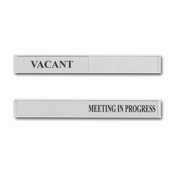 Meeting In Progress Door Signs Awesome Sliding Door Sign Meeting In Progress and Vacant
