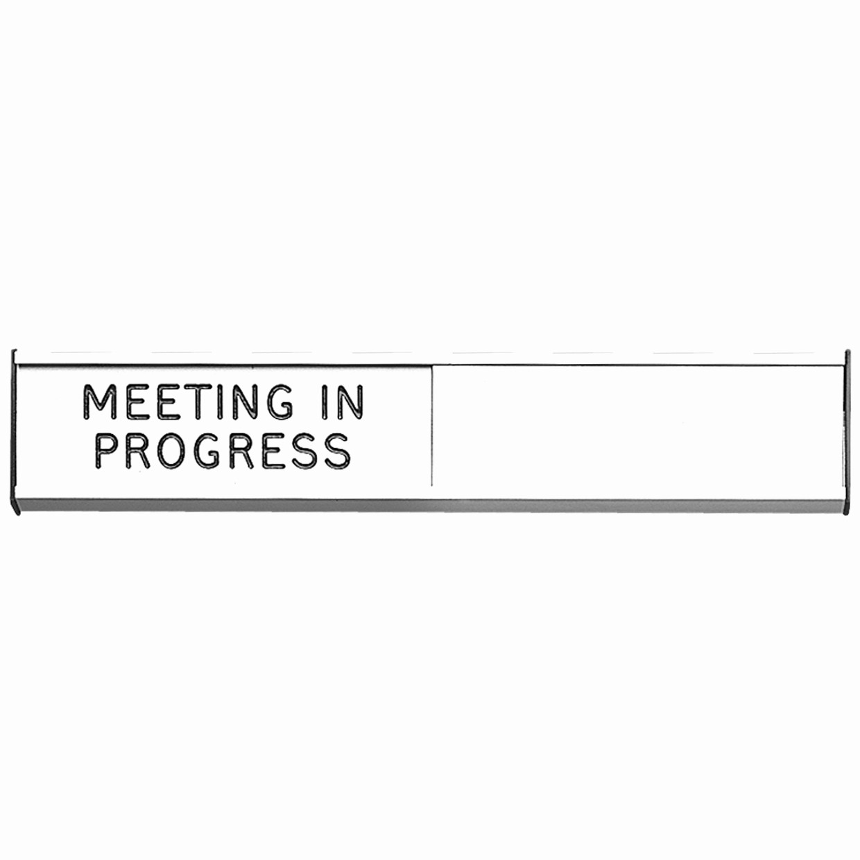 Meeting In Progress Door Signs Awesome Sliding Door Sign Meeting In Progress or Blank Mipb
