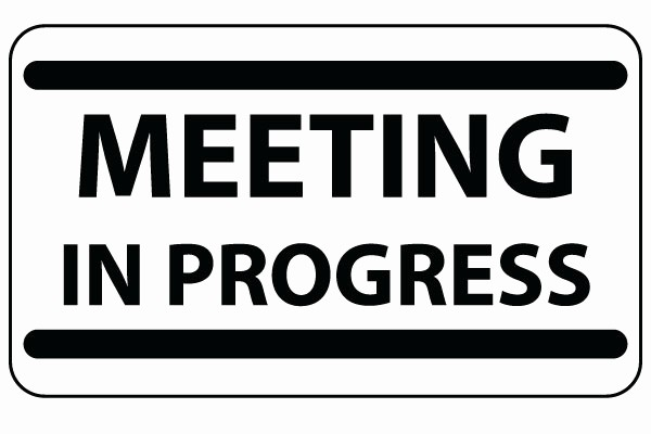 Meeting In Progress Door Signs Beautiful 5 Tips to Curtail Sleeping at Business Meetings • Connect