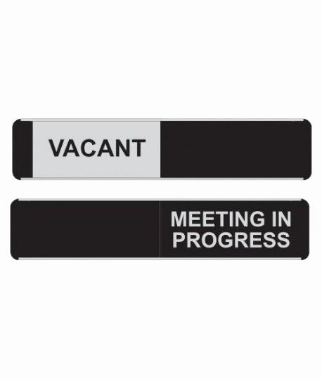 Meeting In Progress Door Signs Beautiful Sliding Door Signs & Viro Sliding Door Sign with Header