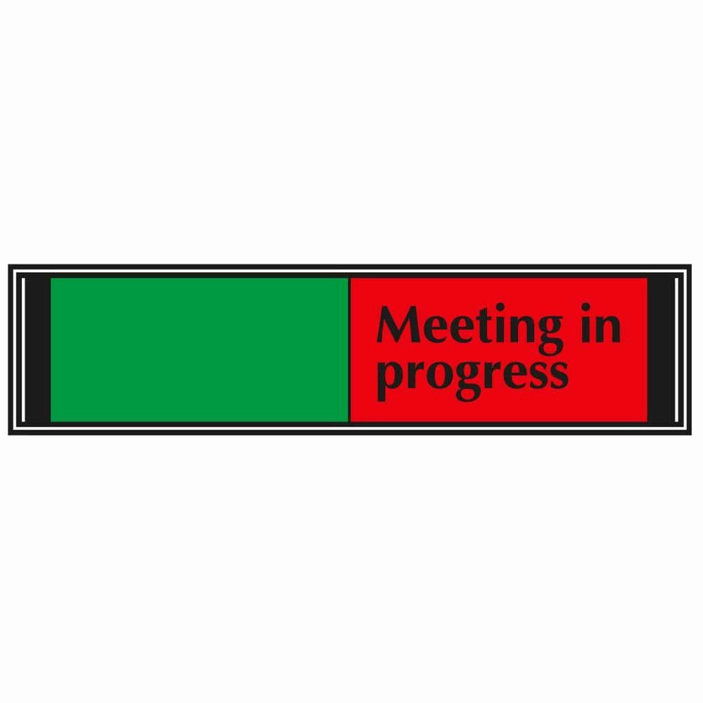 Meeting In Progress Door Signs Best Of Blank Meeting In Progress Sliding Sign for Doors G6db Mp