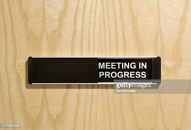 Meeting In Progress Door Signs New Fice Door Sign Stock S and