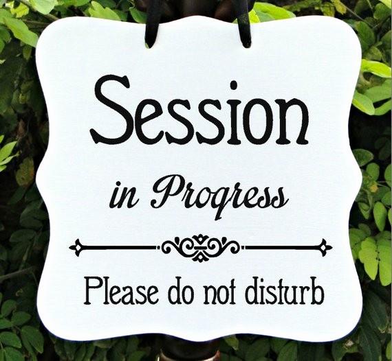 Meeting In Progress Sign Printable Best Of Session In Progress Sign Fice Business Door Sign