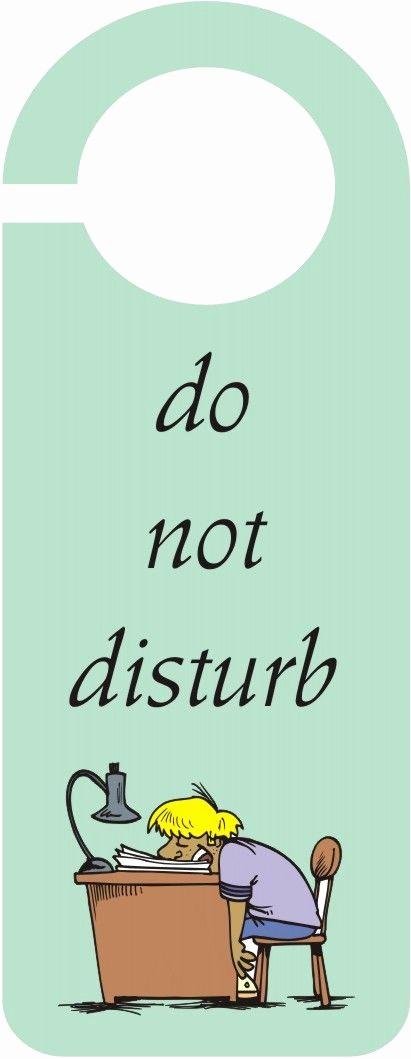"""Meeting In Progress Sign Printable Inspirational """"do Not Disturb"""" Door Hanger Crafts Arts"""