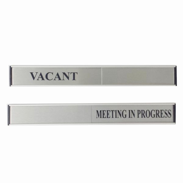 Meeting In Progress Sign Printable Luxury Door Slide Sign Vacant Meeting In Progress