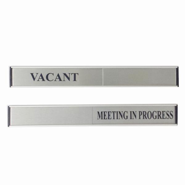 Meeting In Progress Sign Printable Luxury Door Slide Sign Vacant Meeting In Progress