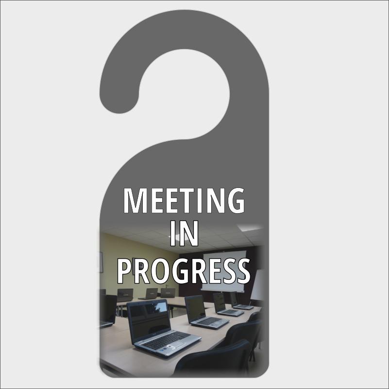 Meeting In Progress Sign Printable Unique Meeting In Progress Door Hanger