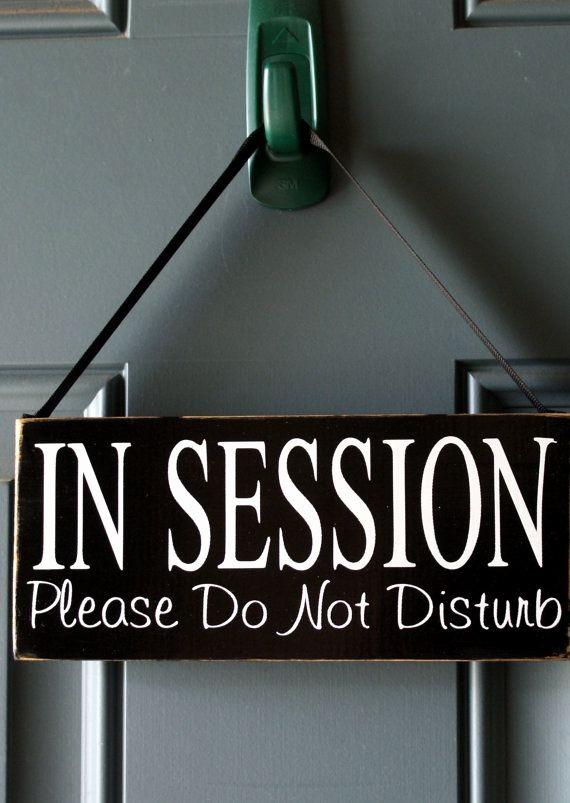 Meeting In Session Door Sign Beautiful In Session Please Do Not Disturb Door or Fice Door
