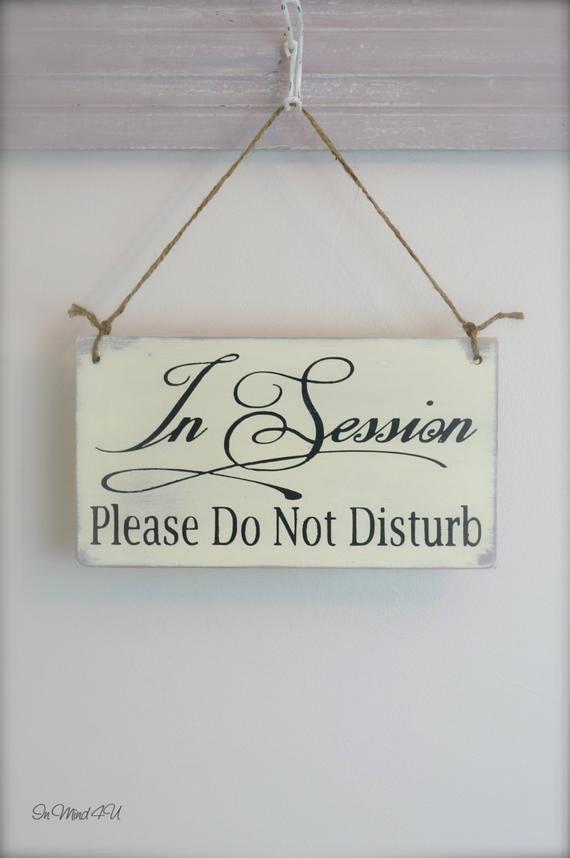 Meeting In Session Door Sign Elegant Business Sign In Session Sign Fice Sign Custom Spa Sign