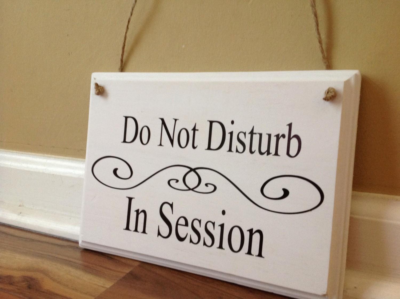 Meeting In Session Door Sign Fresh Do Not Disturb In Session therapy In Session Please Do Not