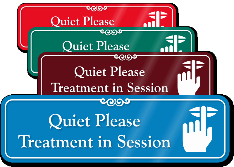 Meeting In Session Door Sign Inspirational Quiet Please Signs