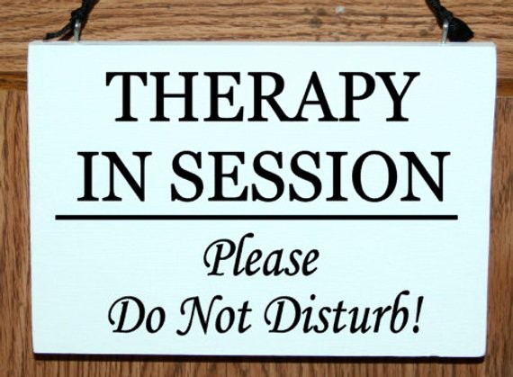 Meeting In Session Door Sign Inspirational therapy In Session Please Do Not Disturb Wood Door Hanger Sign