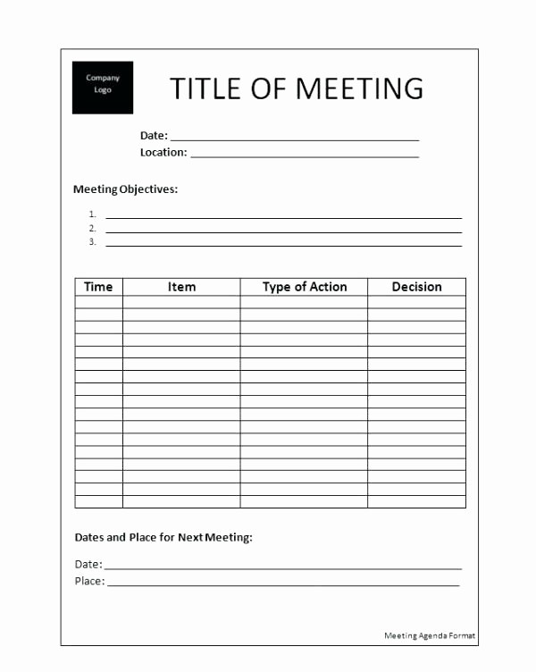 Meeting Minute Template Word 2010 Lovely Microsoft Word Meeting Agenda Template Minutes A Picture