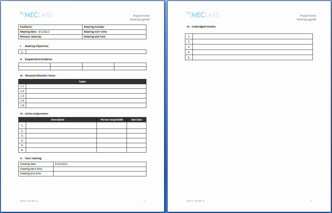 Meeting Notes Template for Word Best Of Informal Meeting Agenda Template Word Ms Fice How to