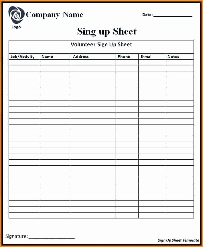 Meeting Sign In Sheet Excel Awesome Sign Out Sheet Template Excel Free Restaurant Inventory