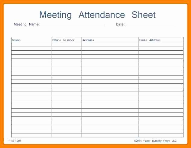 Meeting Sign In Sheet Excel Awesome Visitor Sign In Sheet
