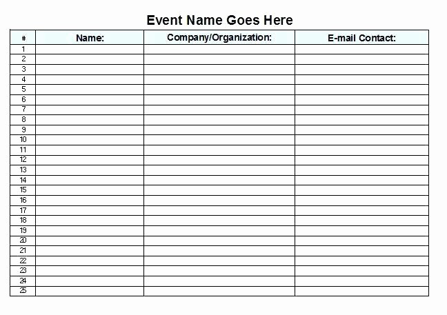 Meeting Sign In Sheet Excel Inspirational Meeting Sign In Sheet Template attendance Register Excel