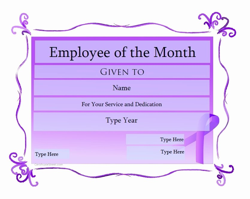 Member Of the Month Certificate Beautiful 50 Amazing Award Certificate Templates Template Lab