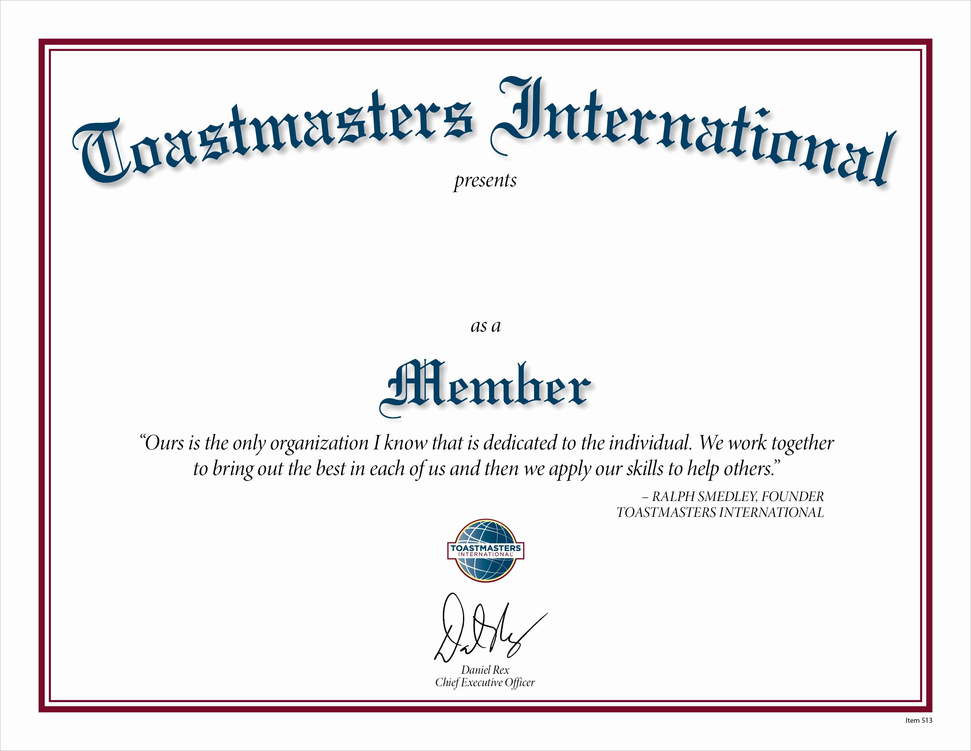 Member Of the Month Certificate Best Of Membership Certificate