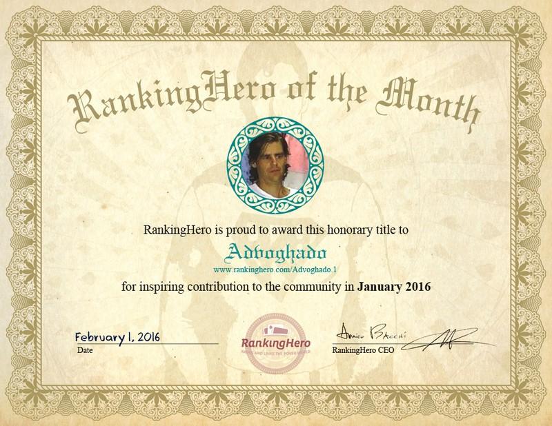 Member Of the Month Certificate Elegant Inaugural Ranking Hero Of the Month Award Ranking Hero