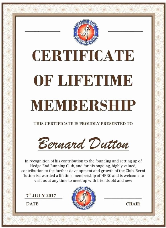 Member Of the Month Certificate Fresh Jelly the Month Certificate Template Club Membership