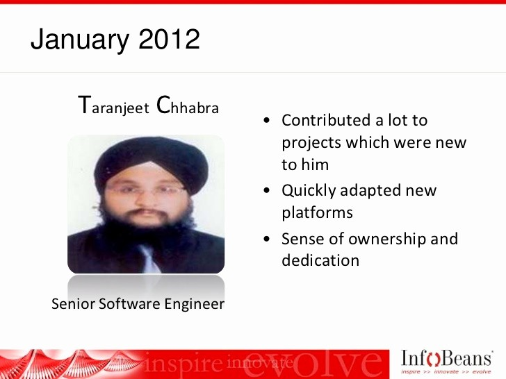 Member Of the Month Certificate Luxury Infobeans Team Member the Month Award Roster