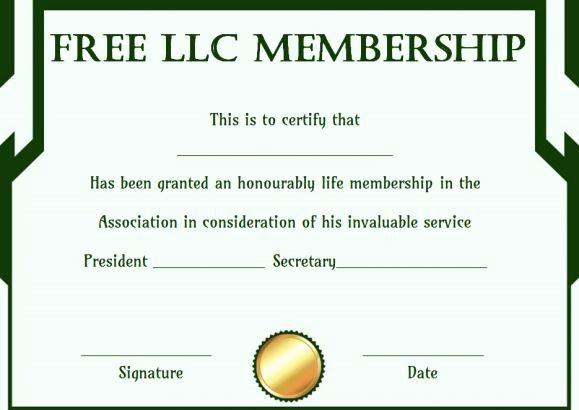 Membership Card Template Microsoft Word Elegant Free Membership Certificates 14 Templates In Word format
