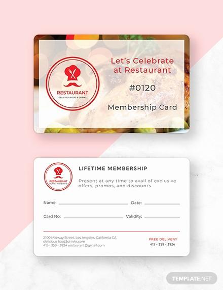 Membership Card Template Microsoft Word Inspirational Free Membership Card Template Download 233 Cards In Psd