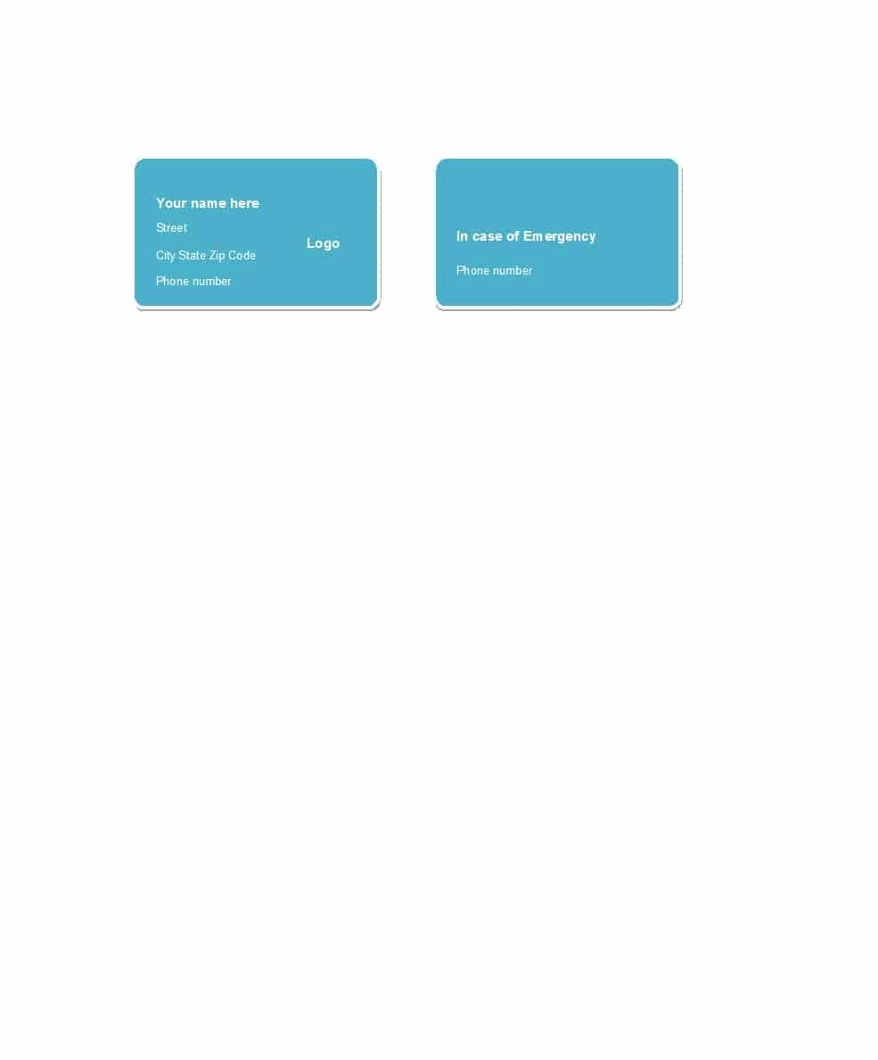 Membership Card Template Microsoft Word Luxury 25 Cool Membership Card Templates & Designs Ms Word