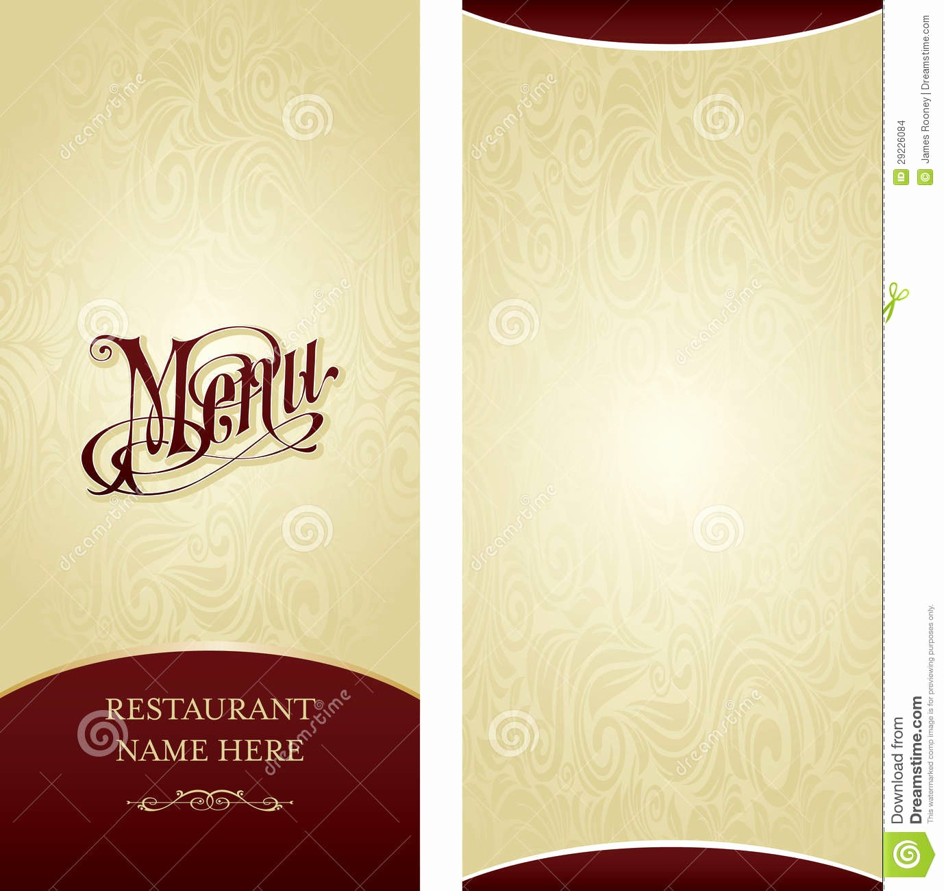 Menu Card Template Free Download Awesome 13 Menu Design Samples Restaurant Menu Examples