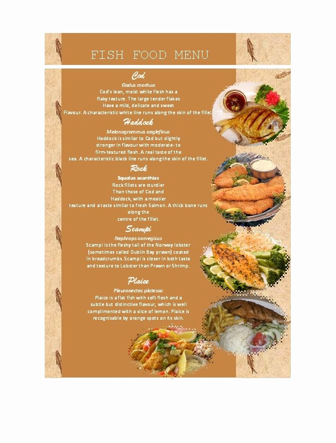 Menu Design Templates Free Download Elegant 31 Free Restaurant Menu Templates & Designs Free