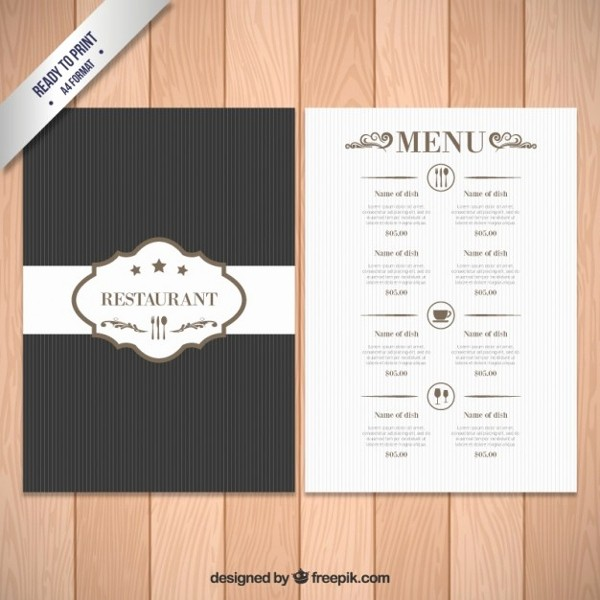 Menu Design Templates Free Download Fresh Elegant Menu Template 19 Free Psd Ai Vector Eps