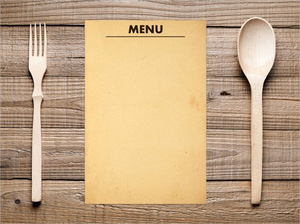 Menu Design Templates Free Download Inspirational 47 Blank Menu Templates Psd Eps Pdf Pages